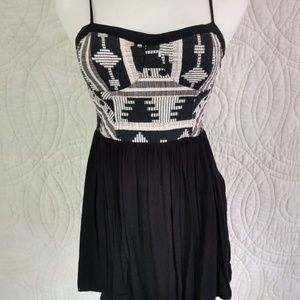 Staring a Stars mini dress with Embroidered Bodice